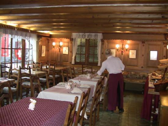 Hotel Helvetia: Breakfast Area