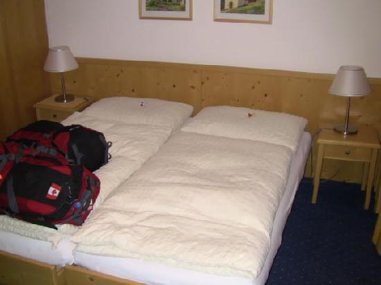 Hotel Helvetia: The beds