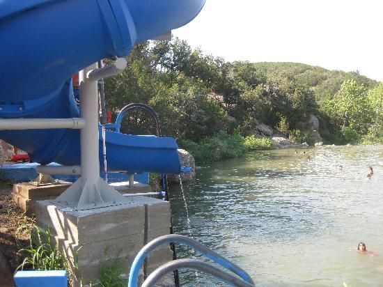 Turner Falls Park: one of the slides
