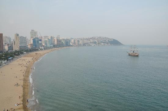 The Westin Chosun Busan: View from the Executive Club