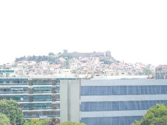 Esperia Hotel: View from our balkony-Castle and Old Town