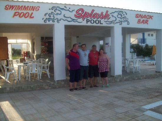 Nikos II Apartments: Hotel Owners and Donna and I