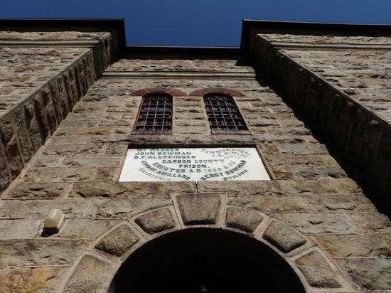 Jim Thorpe, PA: entrance to the jail