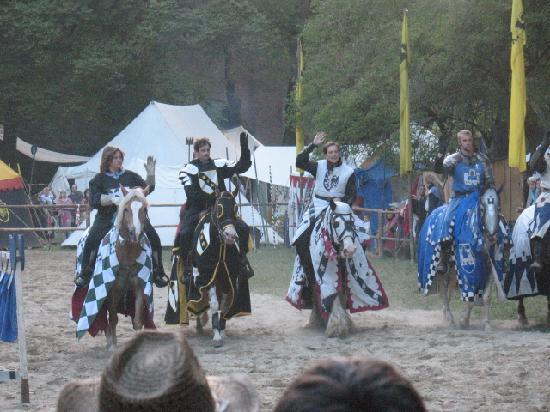 Аугсбург, Германия: Jousting - Historical Festival