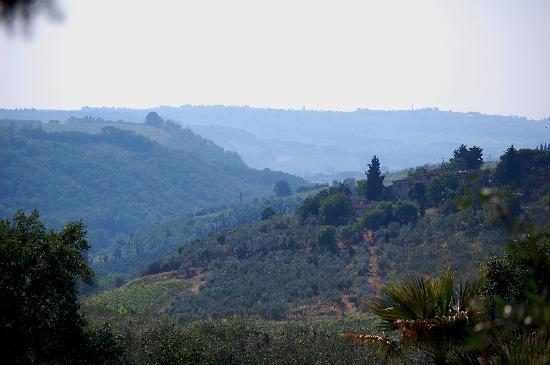 Villa Marcellini: View from the Villa