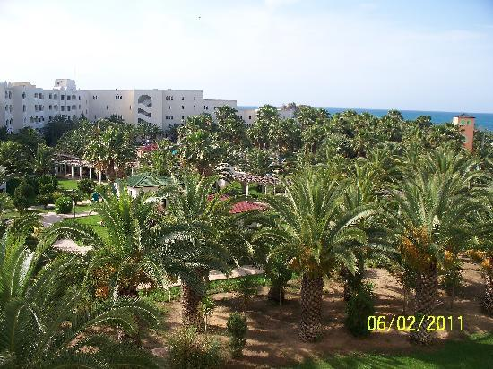 Holiday Village Manar: View from the 3rd floor balcony