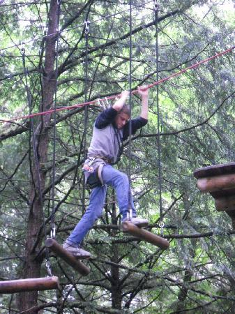 Adirondack Extreme Adventure Course: Jeremy the Great