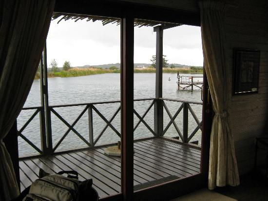 Papyrus Lodge: View from our cabin
