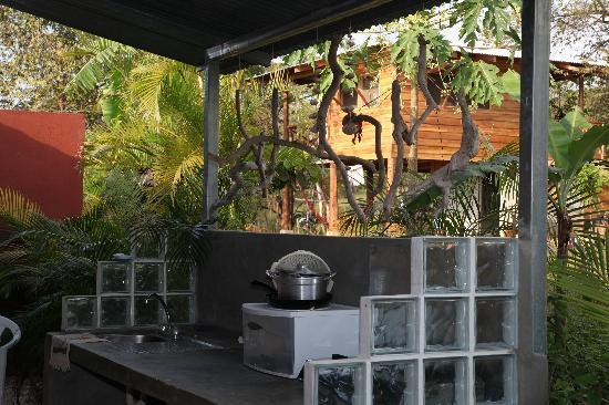 Cada luna..Cabinas: Outdoor Kitchen