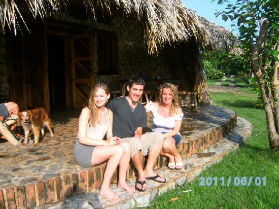 Chalet Tropical Village: Sarah and us