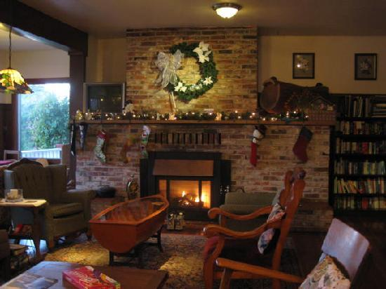 Historic Requa Inn: nice and Christmassy