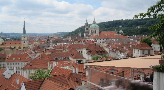 Aurus: Overlooking Prague and Hotel Restaurant