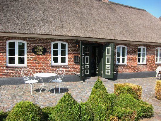 Henne, Denmark: The exterior of the Kro (Inn)