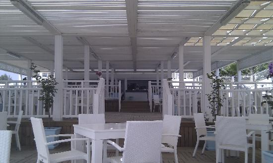 Can Garden Resort: Strandbar