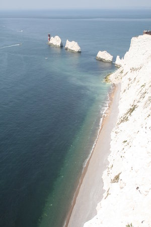 Totland Bay, UK: Costa del Needles!