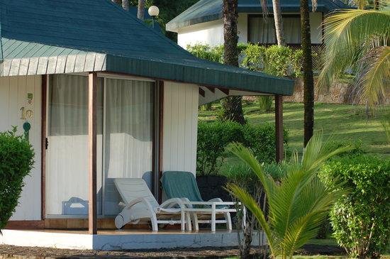 Sao Tome Island, São Tomé e Príncipe: The bungalows.