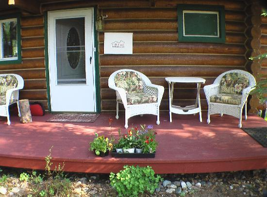 A B&B on C: Front porch
