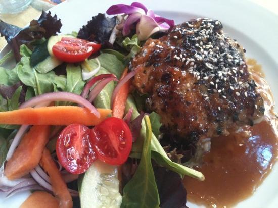 Lahaina Coolers: furikake crusted fish