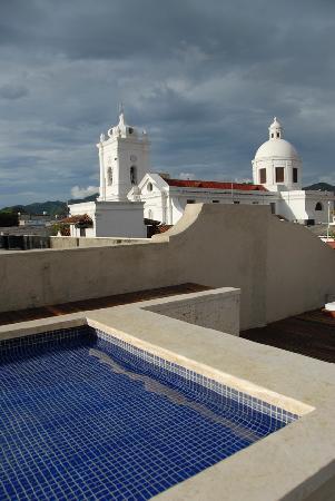 La Casa del Farol Hotel Boutique: La vista desde la terraza