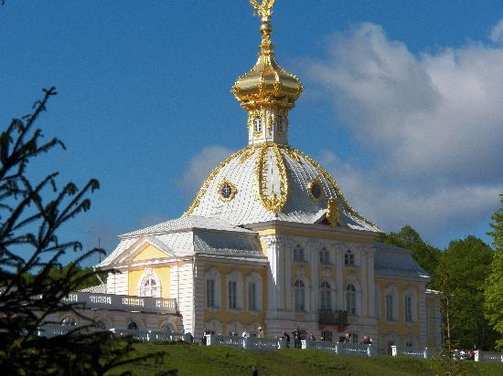 Peterhauf foto di san pietroburgo russia nord - San pietroburgo russia luoghi di interesse ...
