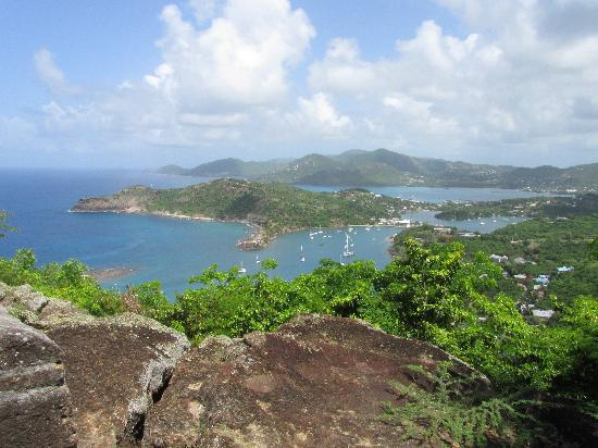 Saint Philip, Antigua: View from Shirley heights