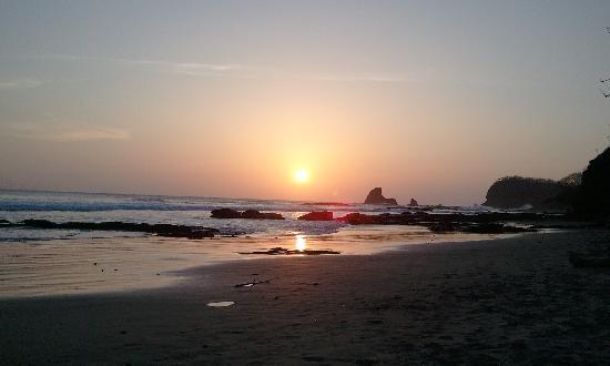Mango Rosa Nicaragua: sunsets again