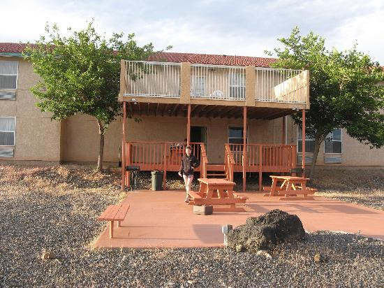 Comfort Inn Zion: Patio out back for breakfast