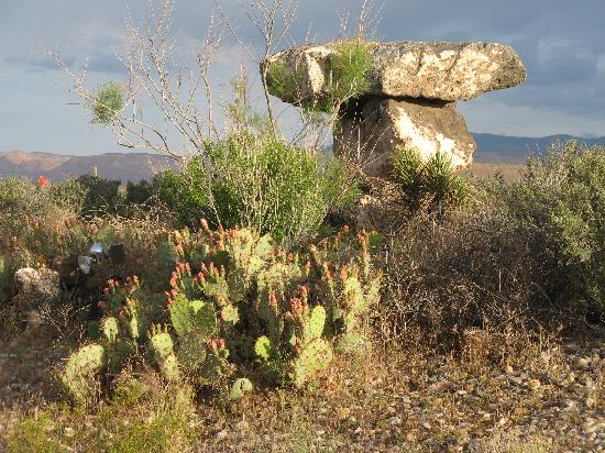 Quality Inn Zion Park Area: Neat rock garden around mini golf
