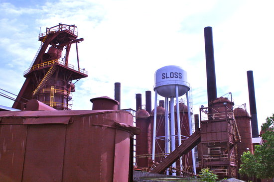 ‪Sloss Furnaces National Historic Landmark‬