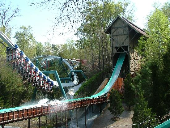 Парк развлечений Busch Gardens: Le Scoot and Alpengeist