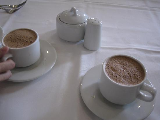 Restaurante El Cardenal: Traditional hot chocolate