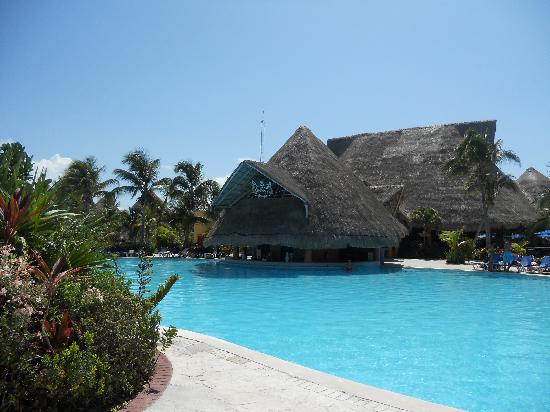 Barcelo Maya Caribe: One Of The Pools At The Barcelo Resort