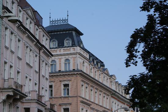 Humboldt Park Hotel & Spa : Hotel Humboldt, chambre dans la tourelle...