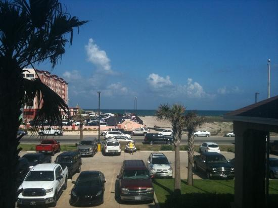Holiday Inn Express & Suites Corpus Christi-N Padre Island: view from second floor