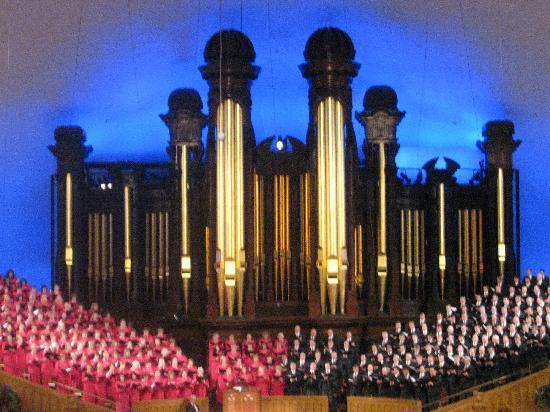 Mormon Tabernacle Salt Lake City Organ