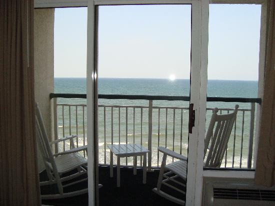 Hampton Inn & Suites Myrtle Beach/Oceanfront: View from the 11th floor