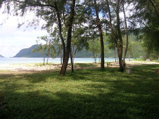 Con Dao Camping: Amazing location right on the beach