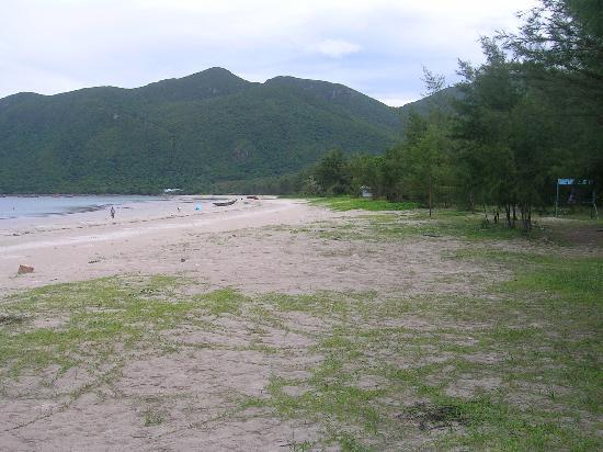 Con Dao Camping: Còn Đao beach