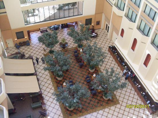 Houston Marriott Westchase: inside view on top