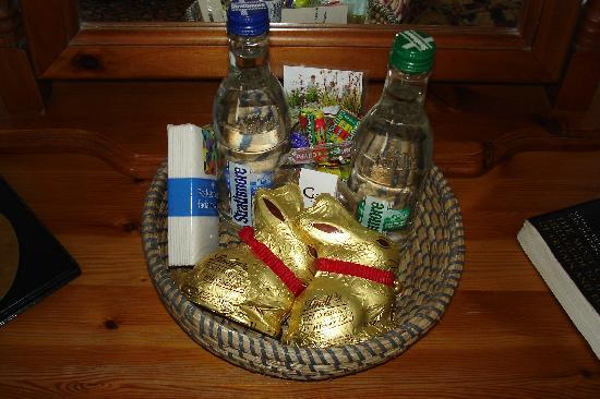 Isle of Coll Hotel: The Easter bunnies