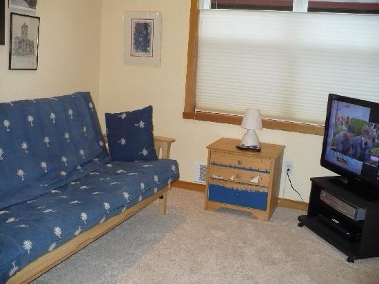 Shorepine Vacation Rentals: TV room/ 3rd bedroom