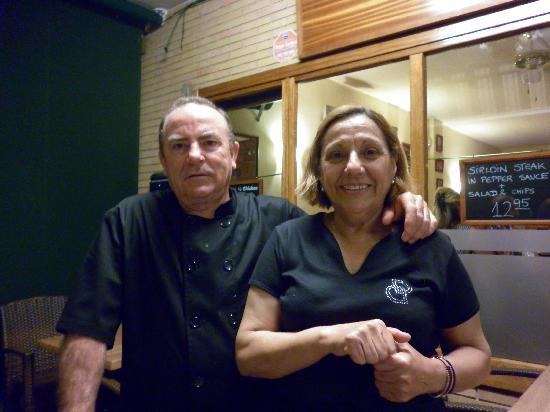 Portals Nous, Spanien: Celia and Jose
