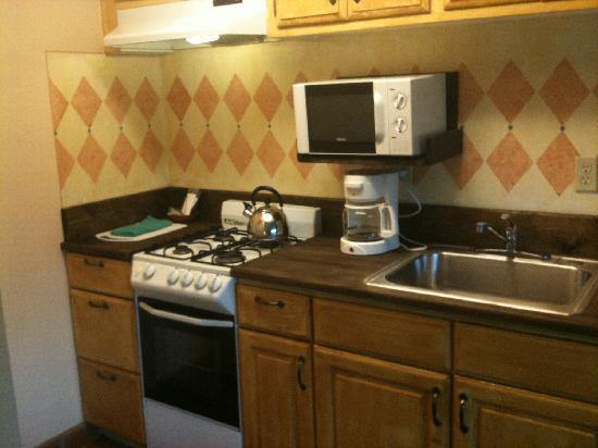 Hotel Pepper Tree: Nice sized kitchenette