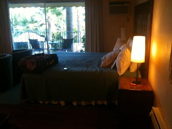 Hotel Pepper Tree: bedroom area