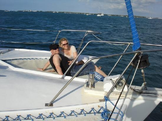 Dream Chaser Charters: Relaxing in the Key West Sun