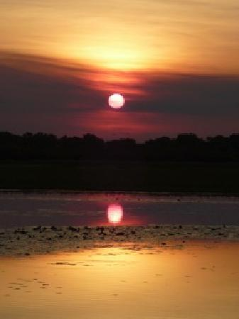 Kakadu National Park, Australië: sunsets like this every night!