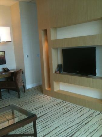 โรงแรมมารีน่า เบย์ แซนด์ส: living room