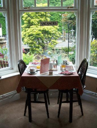 Holly-Wood Guest House: View from Holly-Wood's Breakfast Room