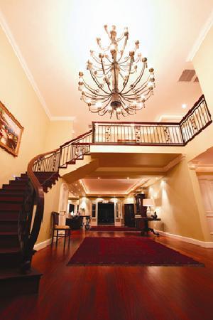 AHA Auberge Hollandaise Guest House: Entrance Hall