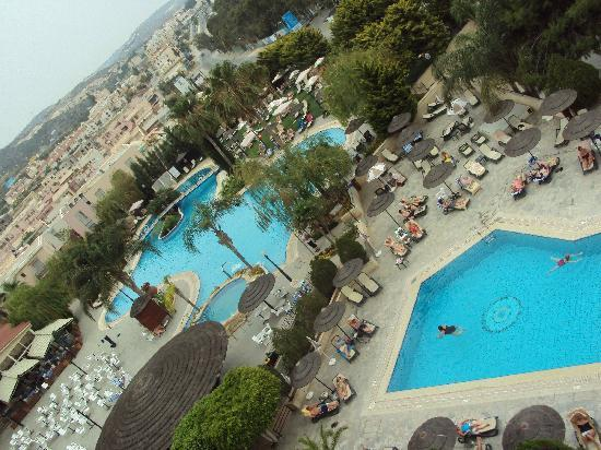 Atlantica Bay Hotel: View from our room